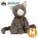 ジェリーキャット ぬいぐるみ 猫 ねこ Mサイズ Fuddlewuddle Cat Jellycat 出産祝い 女の子 ファーストトイ 手触りふわふわ もこもこ …