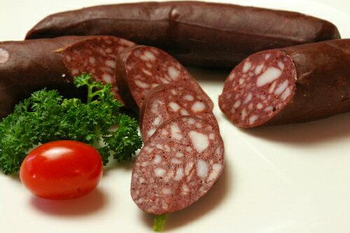ブルートヴルスト(豚の血の腸詰め)(130g) ブラッドソーセージ 血のソーセージ