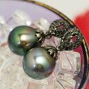 特別版 11mm 黒蝶真珠 ペンダントトップ 華やかなてりの大珠パールのゴージャスな輝き