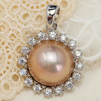 Lecollier rakuten global market 13 mm ball freshwater pearl 13 mm ball freshwater pearl pendant top shiny bright colorful pearl is a natural color breed extra large pearls mozeypictures Gallery