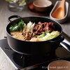 Cocotte Japanese 24 cm matte black Le-Creuset Le Creuset LE CREUSET gift pot cast iron enameled enameled pot Pan casserole