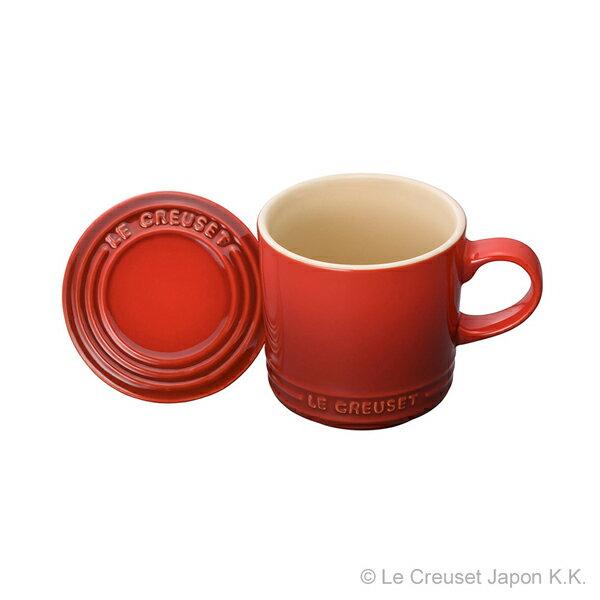 マグカップ(フタ付き) ル・クルーゼ ルクルーゼ LE CREUSET ギフト洋食器 マグカップ 陶器 無地