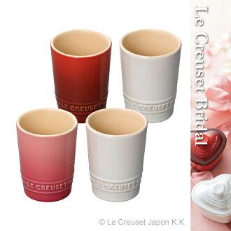一对·短·tamburaru·kuruzerukuruze LE CREUSET礼物西式餐具杯子啤酒杯茶杯陶器素色