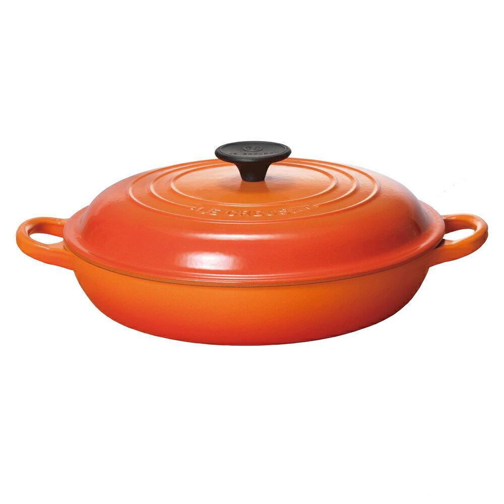 ビュッフェ・キャセロール 26cm ル・クルーゼ ルクルーゼ LE CREUSET ギフト 送料無料 鍋 鋳物ホーロー ホーロー鍋 フライパン キャセロール