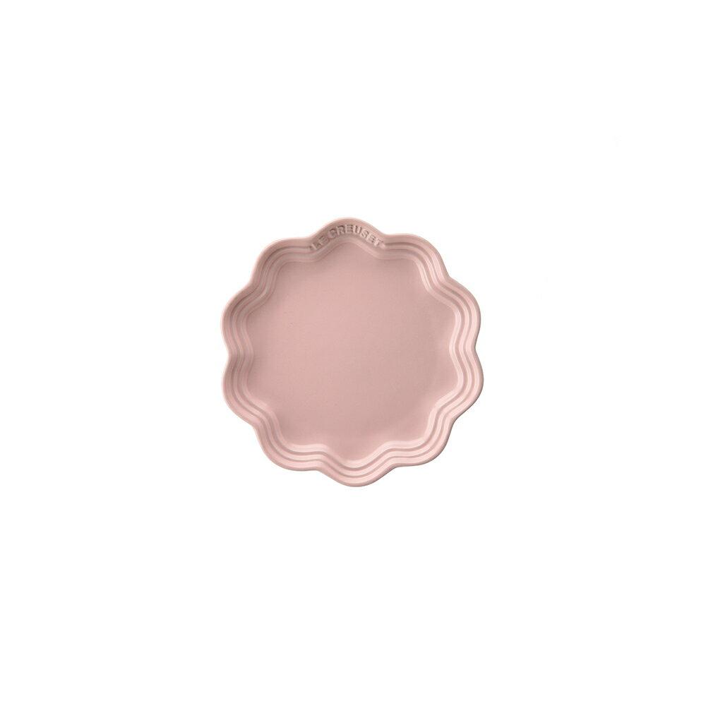 フリル・プレート 18cmル・クルーゼ ルクルーゼ LE CREUSET 期間限定 限定商品 パン ベーカリー フラワーコレクション Flower Collection ギフト ストーンウェア 食器