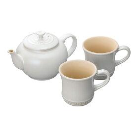 ティーポット&マグ(SS)(2個入リ)セット ル・クルーゼ ルクルーゼ LE CREUSET ギフト 送料無料 洋食器 ティーポット 陶器