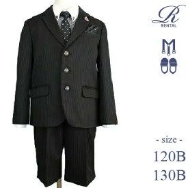子供スーツレンタル おとこのこスーツ 入学式スーツ 男の子フォーマル 男児スーツ 入学式  結婚式 発表会 七五三【レンタル/:ゆったりサイズ 120B 130B/b-118B】ゆったりサイズのB体スーツ MICHIKO LONDON ギンガムチェックシャツに水玉ネクタイ fy16REN07