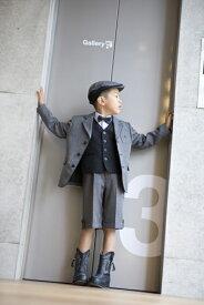 子供スーツレンタル おとこのこスーツ 入学式スーツ 男の子フォーマル 男児スーツ 入学式  結婚式 発表会 七五三 レンタルスーツ【レンタル/サイズ 120 130/b-05】MICHIKO LONDON 英国風スーツグレー系 fy16REN07