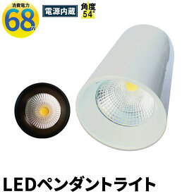 LED ペンダントライト 250W水銀灯相当 日亜化学チップ使用 高天井用 LED水銀灯 電源内蔵 68W COBタイプ LEDライト 角度54度LED照明 LDB68W 電球色 LDB68Y 昼白色 相当 照明 LEDランプ ビームテック