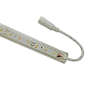 LED棚下照明 2300kゴールド 825mm 9.6W 830lm LEDパーライト ライン照明 スリムライト 電源別売