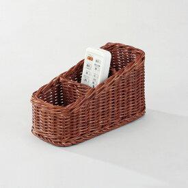 籐 ラタン リモコンバスケット アジアン リゾート家具 高級ラタン エスニック バリ 高品質 温浴備品 おしゃれ 高耐久 長持ち