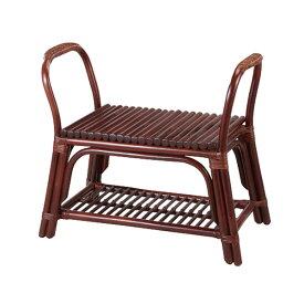 籐 ラタン 玄関立ち上がり椅子 スツール アジアン リゾート家具 高級ラタン エスニック バリ 高品質 温浴備品 おしゃれ 高耐久 長持ち 敬老の日