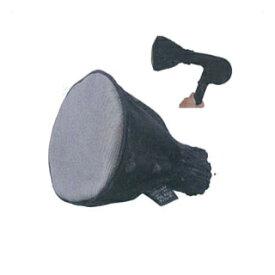 ハンドドライヤー用スタイラー シルバー&チタン ヘビーメタルメッシュディフューザー L ブラック [9114011]