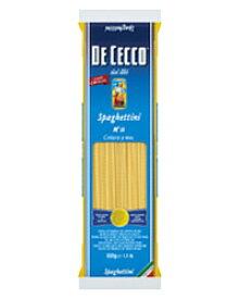 【包装不可】 ディ チェコ ディチェコ No.11 スパゲティーニ 500g De Cecco