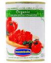 モンテベッロ(スピガドーロ) オーガニック(有機栽培) ダイストマト(角切り) 400g 1梱包48缶まで 西濃運輸 出荷不可 あす楽