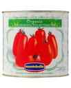 モンテベッロ(スピガドーロ) オーガニック(有機栽培) ホールトマト(丸ごと) 2550g 1梱包6缶まで 西濃運輸 出荷不可 あす楽
