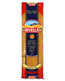 【あす楽】【包装不可】 ディヴェッラ DIVELLA No.14 リングイーネ(リングイネ) 500g