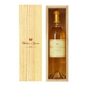【包装不可】 シャトー ディケム 2009 750ml シャトー蔵出し 専用木箱付き 白ワイン 貴腐ワイン セミヨン フランス ボルドー