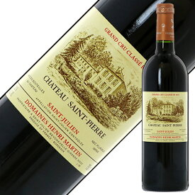 格付け第4級 シャトー サン ピエール 1999 750ml 赤ワイン カベルネ ソーヴィニヨン フランス