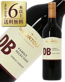 【よりどり6本以上送料無料】 デ ボルトリ ディービー ファミリーセレクション シラーズ カベルネ 2019 750ml 赤ワイン オーストラリア