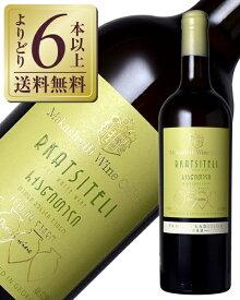【よりどり6本以上送料無料】 ヴァジアニ カンパニー マカシヴィリ ワイン セラー ルカツィテリ 2018 750ml ジョージア 白ワイン