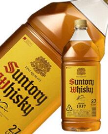 【包装不可】 サントリーウイスキー 角瓶40度 2700ml(2.7L)ペットボトル