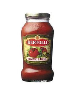 【包装不可】 ベルトリー(ベルトーリ) パスタソーストマト&バジル ソース 680g パスタ ソース PASTA SAUCE