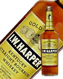 【あす楽】 IWハーパー ゴールドメダル 40度 700ml 正規