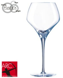 【包装不可】【同一商品6脚ご購入で送料無料】 ARC(アルクインターナショナル) シェフ&ソムリエ オープンナップ ラウンド 37 品番:JD-04720 wineglass 白ワイン グラス