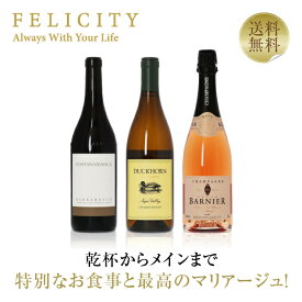 ワインセット 特別な日のフルコースワイン(泡・白・赤)3本セット 第3弾 750ml×3 飲み比べ 赤ワイン 白ワイン シャンパン ワイン セット 【送料無料】【包装不可】
