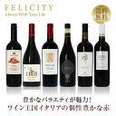 ワインセット 赤ワイン ワイン王国「イタリア」の赤ワイン6本セット 14弾 750ml×6 飲み比べ セット 【送料無料】【包…