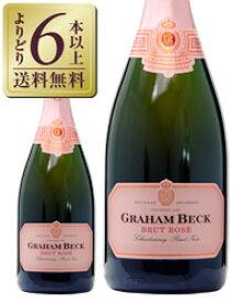 【よりどり6本以上送料無料】 グラハム ベック ブリュット ロゼ 750ml 南アフリカ スパークリングワイン