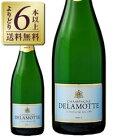 【よりどり6本以上送料無料】 ドゥラモット ブリュット NV 750ml 並行 シャンパン シャンパーニュ フランス