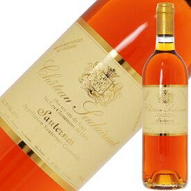シャトー スデュイロー(シュデュイロー) 1989 750ml 白ワイン 貴腐ワイン セミヨン フランス ボルドー