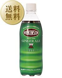【あす楽】【送料無料】 ウィルキンソン ジンジャーエール ペットボトル 2ケース 48本入り 500ml