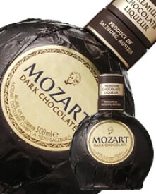 【包装不可】 モーツァルト ブラックチョコレートクリーム リキュール 17度 500ml 正規 shibazaki_MO3