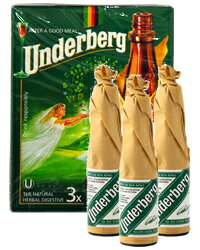 【あす楽】【包装不可】 ウンダーベルグ 3本パック 44度 20ml×3本