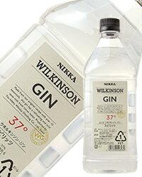 【あす楽】【包装不可】 ウィルキンソン(ウヰルキンソン) ジン 37度 1800ml 正規 ペットボトル