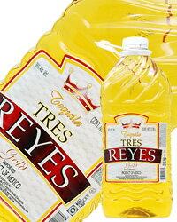 【あす楽】【包装不可】 トレス レイス テキーラ ゴールド38度 3785ml ペットボトル