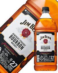 【あす楽】【同一商品6本購入で送料無料】 ジム ビーム 40度 2700ml(2.7L) 正規 ペットボトル