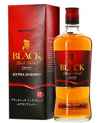 【あす楽】 ブラック ニッカ リッチ ブレンド エクストラ シェリー 43度 箱付 700ml