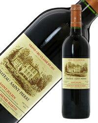 【あす楽】 格付け第4級 シャトー サン ピエール 1999 750ml 赤ワイン カベルネ ソーヴィニヨン フランス