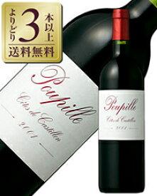 【よりどり3本以上送料無料】 プピーユ 2014 750ml 赤ワイン メルロー フランス ボルドー