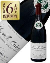 【あす楽】【よりどり6本以上送料無料】 ルイ ラトゥール シャンボール ミュズィニ 2013 750ml 赤ワイン ピノ ノワール フランス ブルゴーニュ