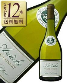 【よりどり12本送料無料】 ルイ ラトゥール アルデッシュ(アルディッシュ) シャルドネ 2016 750ml 白ワイン フランス ブルゴーニュ