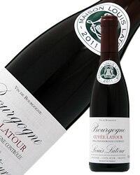 【あす楽】 ルイ ラトゥール キュヴェ ラトゥール ルージュハーフ 2015 375ml 赤ワイン ピノ ノワール