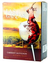 【あす楽】【包装不可】 ラス ガルサス(ガルザス) カベルネソーヴィニヨン BIB(バックインボックス) 3000ml 赤ワイン
