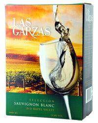 【あす楽】【包装不可】【ラス ガルサス シリーズ8個で送料無料】 ラス ガルサス(ガルザス) ソーヴィニヨンブラン BIB(バックインボックス) 3000ml (可能) 白ワイン