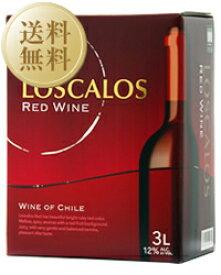 【送料無料】【北海道、沖縄、離島、一部地域への配送不可】【包装不可】 ロスカロス 赤 2ケース 3000ml×8 バッグインボックス ボックスワイン 赤ワイン