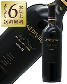 【よりどり6本以上送料無料】 バルディビエソ シングル ヴィンヤード サグラダ ファミリア メルロー レゼルバ 2013 750ml 赤ワイン チリ